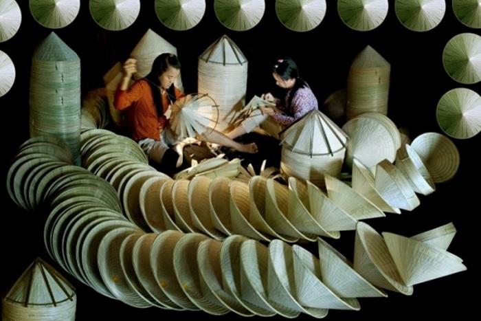 chằm nón lá - làng nghề ở Tây Ninh hấp dẫn