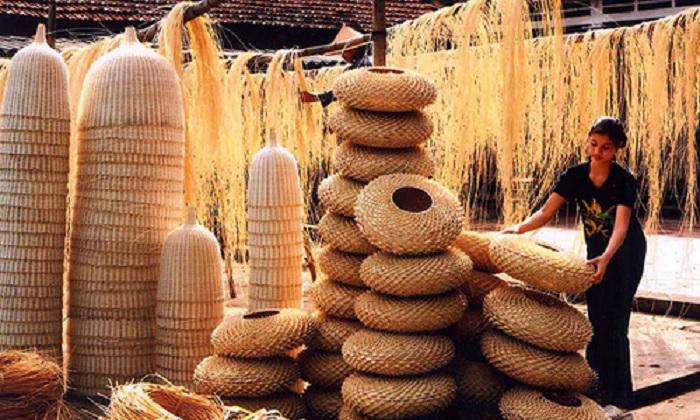 đan mây, tre, nữa - làng nghề ở Tây Ninh