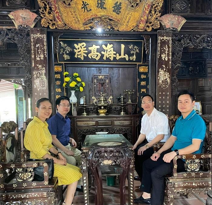 nhà cổ - khu vực hấp dẫn tại thành cổ Quảng Ngãi
