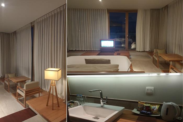 Phòng ngủ hướng hồ bơi và bãi biển - Review FLC Resort Quy Nhơn