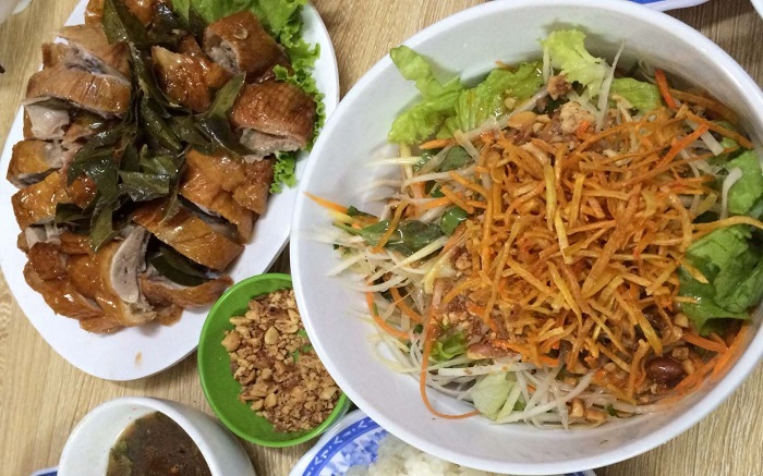 The delicious roast duck shops in Lang Son - Hung Hung Roast Duck Bien Cuong Xu Lang menu
