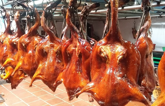 Delicious roast duck shops in Lang Son -Mass Honey roast duck shop