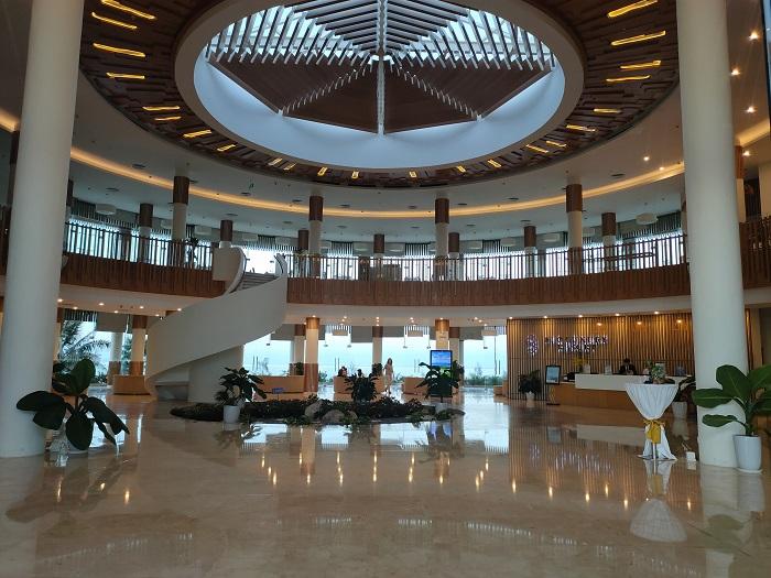 Sảnh tiếp đón khu villa - Review FLC Resort Quy Nhơn