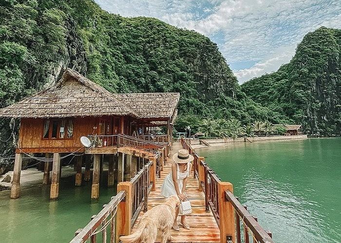 summer - the right time to visit Nam Cat Island