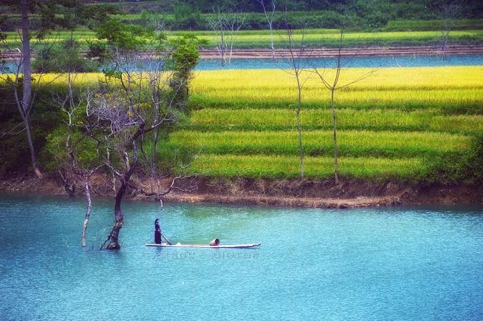 nét đẹp lao động - điểm thú vị trên sông Gâm Cao Bằng