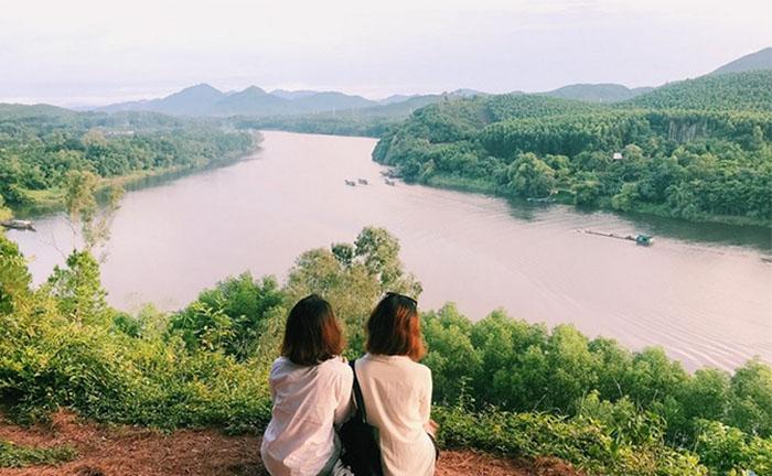 Check in khu du lịch Về Nguồn Huế - Sông Hương tuyệt đẹp