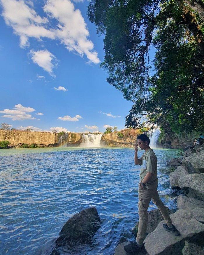 Thác Gia Long điểm du lịch ở Krông Nô