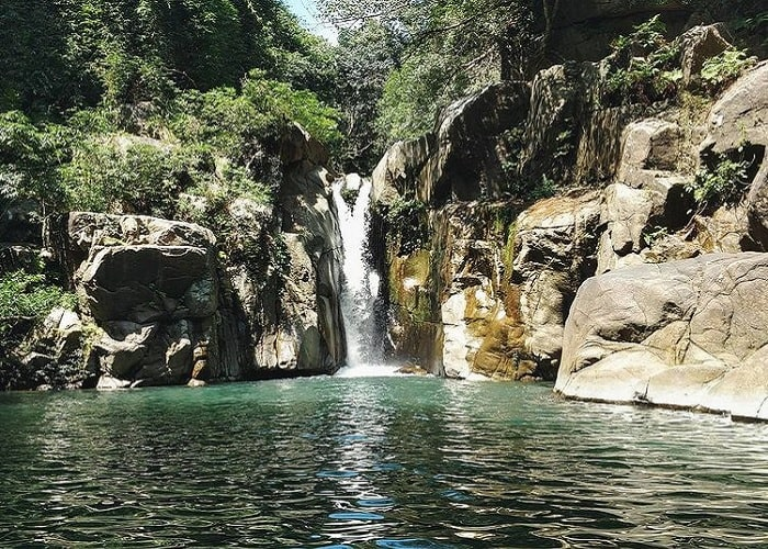 Clean water - the highlight of Lung O waterfall