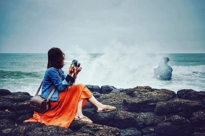 photography - important activities at Thach Ky Dieu Dau rock cliff