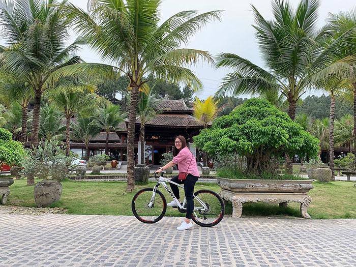 Check in khu du lịch Về Nguồn Huế - Tham gia đạp xe