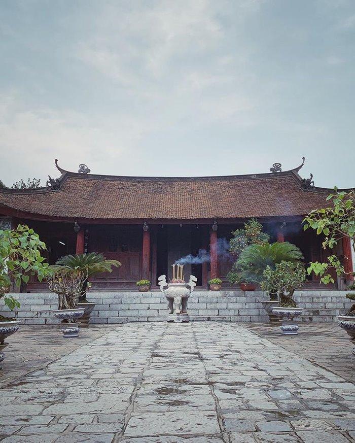 đền an dương vương ở  thành Cổ Loa