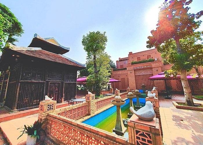 kiến trúc nổi bật của thành cổ Quảng Ngãihiện tại