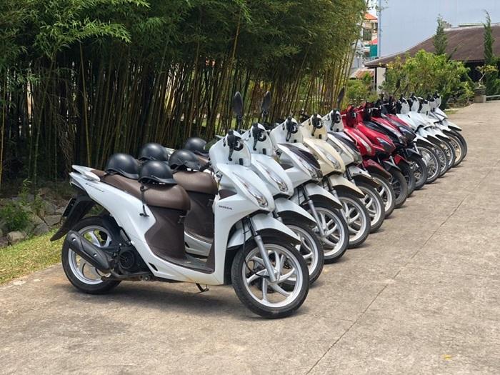 thuê xe máy ở Hạ Long - Cửa hàng Cô Lường