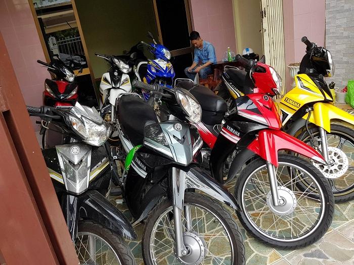 thuê xe máy ở Hạ Long - NEST Hạ Long