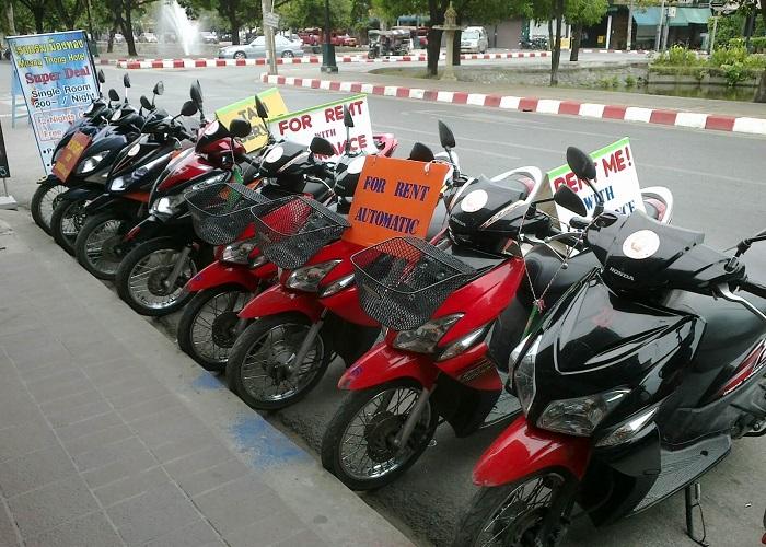 thuê xe máy ở Hạ Long -Khách  sạn Thế Kỉ Mới