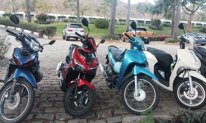 thuê xe máy ở Hạ Long - kinh nghiệm