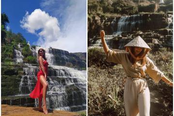 Tới thác Pongour chạm vào vẻ đẹp kỳ vĩ và phóng khoáng của Tây Nguyên