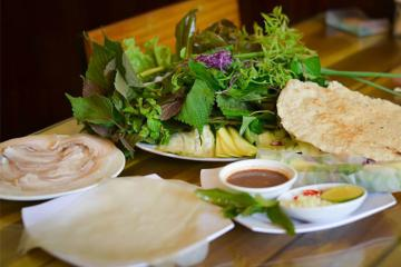Top địa chỉ ăn bánh tráng cuốn thịt heo ở Đà Nẵng 'đỉnh của chóp'