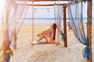 Bãi biển Châu Tân – 'ốc đảo'yên bình ngay trong lòng Quảng Ngãi