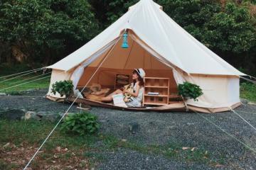 'Xõa tới bến' với các điểm cắm trại gần Hà Nội cùng hội bạn thân