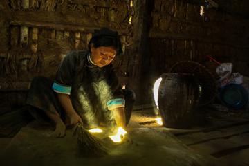 Bình yên nơi làng hương Phia Thắp ở Cao Bằng