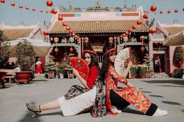 Một thoáng Trung Hoa cổ kính tại chùa Ông Biên Hòa