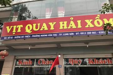 Điểm danh những quán vịt quay ngon ở Lạng Sơn khách ra vào nườm nượp