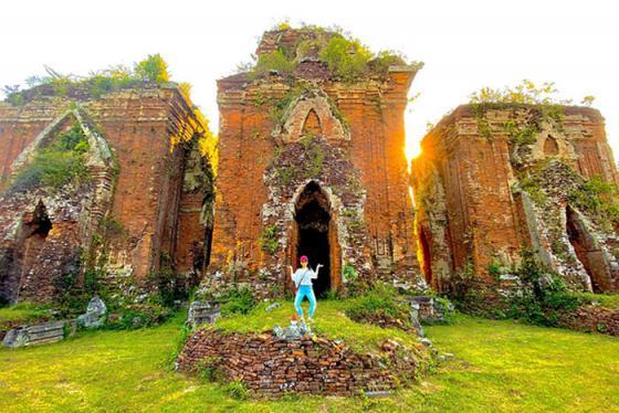 Vẻ đẹp bí ẩn của di tích tháp Chiên Đàn từ nền văn hóa Champa