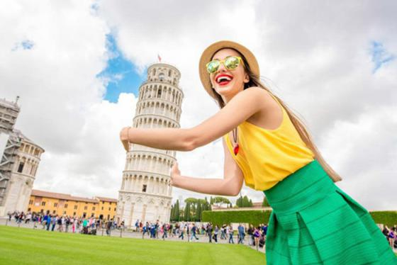 Chiêm ngưỡng tháp nghiêng Pisa - công trình kiến trúc biểu tượng củanước Ý