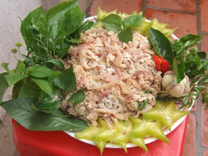 Enjoy Ninh Binh fish salad