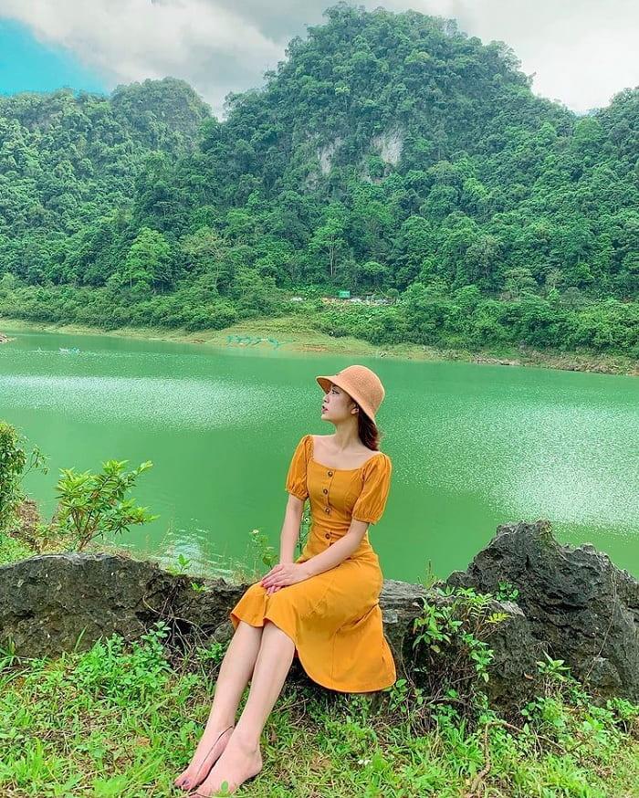 mùa hè - thời điểm du lịch Trà Lĩnh