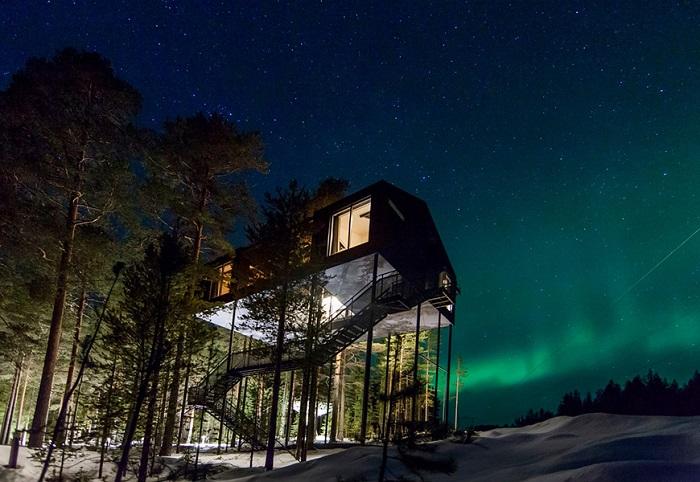 Khách sạn Treehotel của Thụy Điển - khách sạn độc đáo nhất thế giới