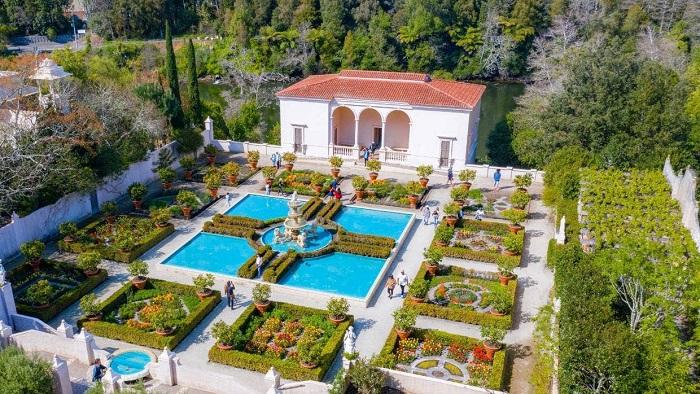 Khu vườn Phục hưng của Ý là một trong những khu vườn nổi tiếng nhất. - Tham quan vườn Hamilton