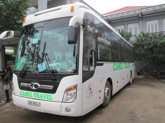 xe khách Hà Nội - Sài Gòn - xe khách Camel Travel