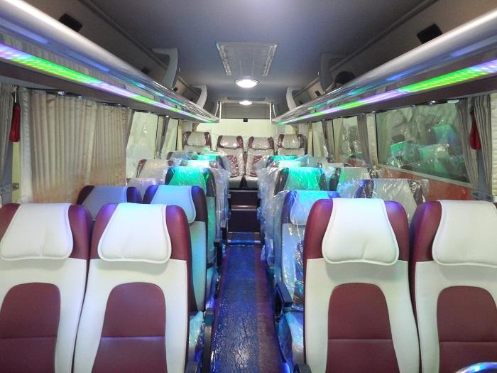xe khách Hà Nội - Sài Gòn - xe khách Hiền Phước nội thất