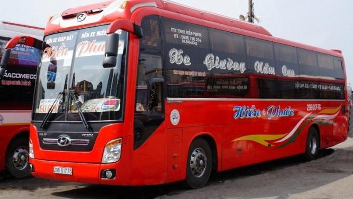 xe khách Hà Nội - Sài Gòn - xe khách Hiền Phước