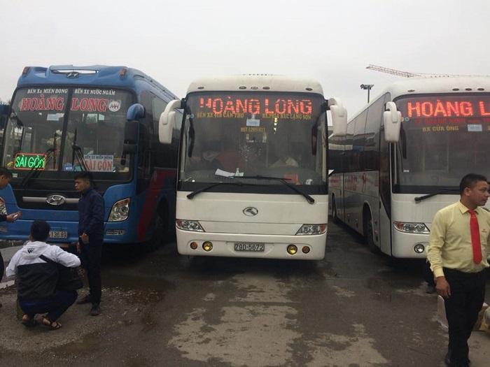 xe khách Hà Nội - Sài Gòn - xe khách Hoàng Long