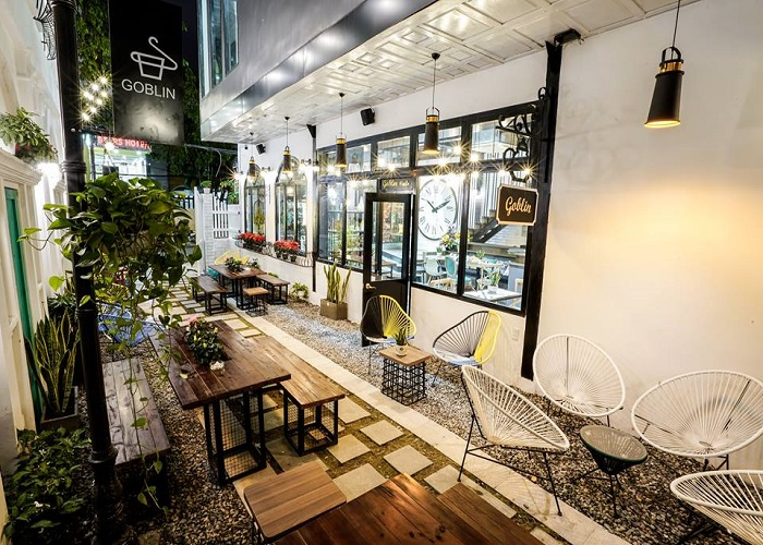 Golbin coffee quán cafe đẹp nhất Đà Nẵng