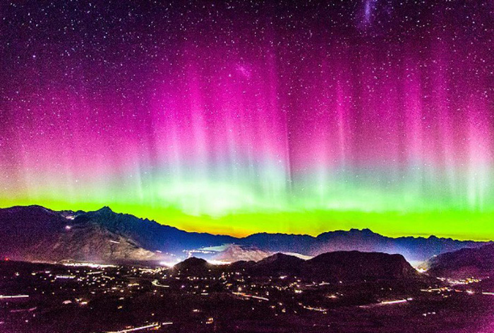 điểm ngắm cực quang đẹp nhất New Zealand