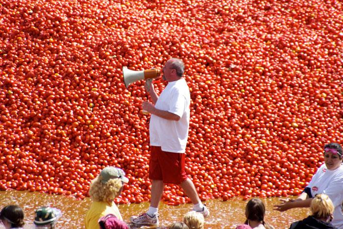 Độc đáo lễ hội Tomatina 2019 tại Tây Ban Nha