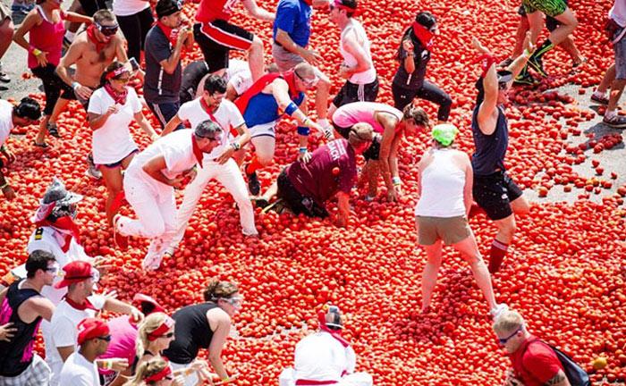 Lễ hội Tomatina 2