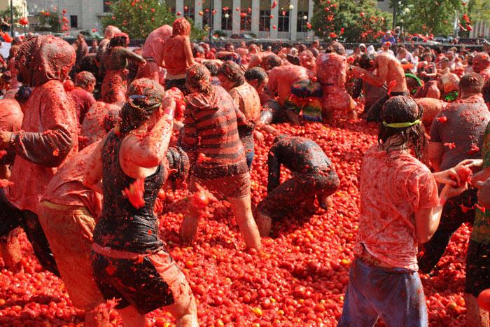 Lễ hội Tomatina 4