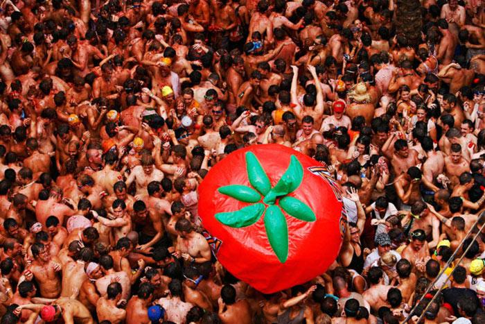 Lễ hội Tomatina 5