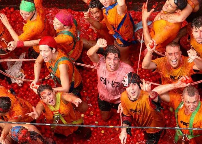 Lễ hội Tomatina 6