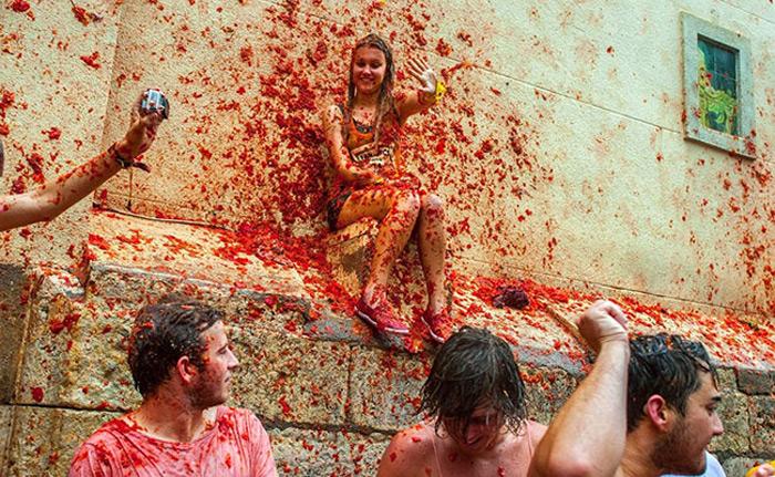 Lễ hội Tomatina 8