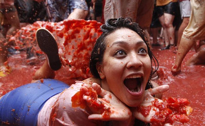Lễ hội Tomatina 7