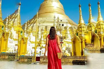 Khám phá chùa vàng Shwedagon linh thiêng bậc nhất Myanmar