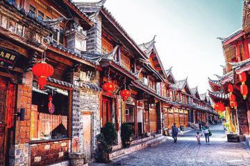 Thành cổ Lệ Giang - thắng cảnh nên thơ bậc nhất Trung Quốc