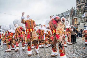 Hòa mình vào không khí các lễ hội độc đáo nhất nước Bỉ