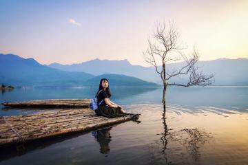 Ghé thăm đầm Lập An - phiên bản 'tuyệt tình cốc' đẹp miên man ở Huế